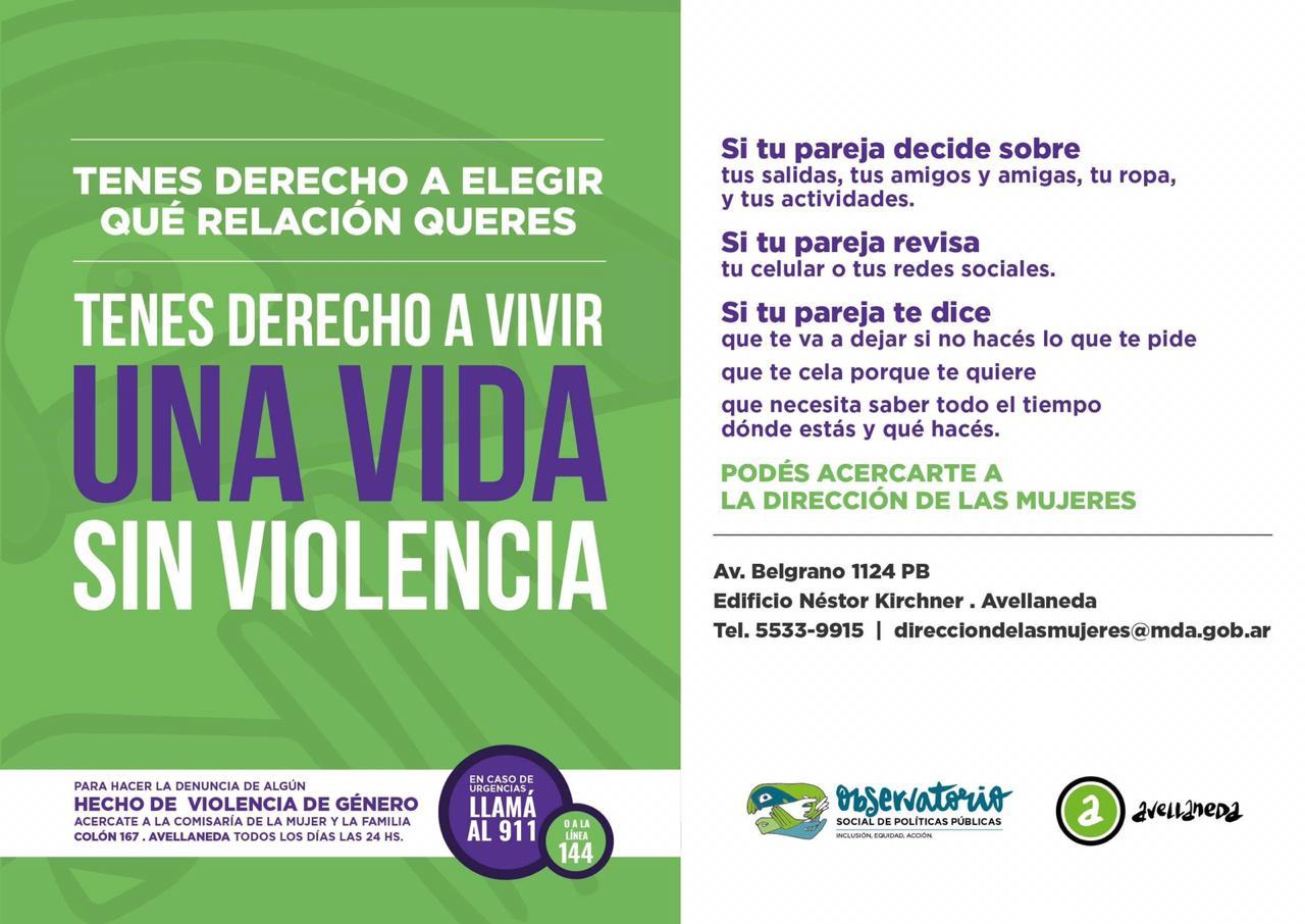 Violencia de género: el Observatorio realiza mediciones para desarrollar sus políticas públicas locales